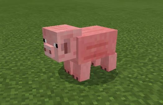 餌 マイクラ 豚