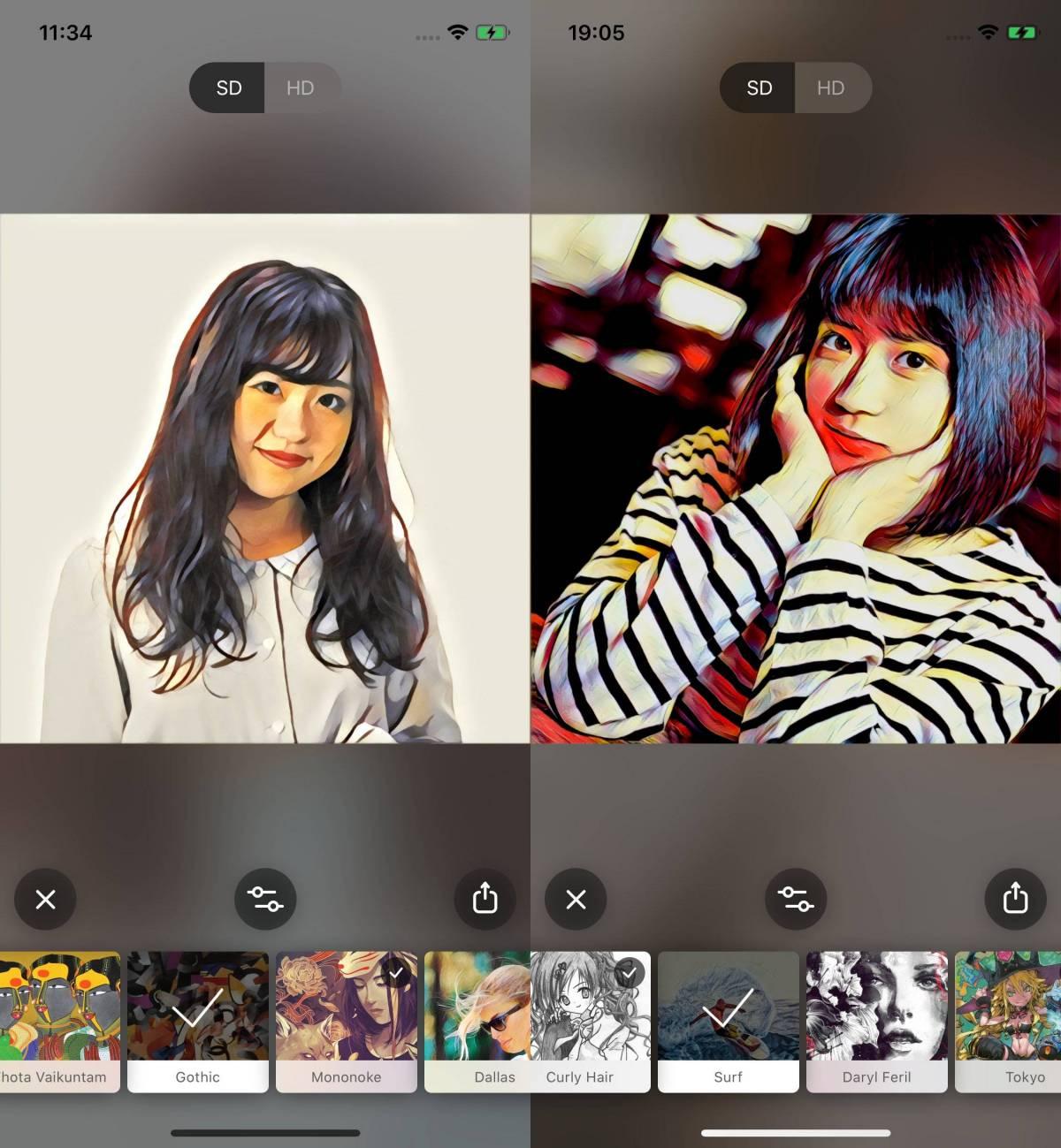 写真 アニメ 化 アプリ