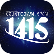 Androidアプリ「COUNTDOWN JAPAN 14/15」のアイコン
