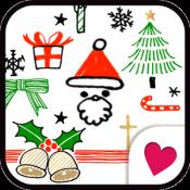 Androidアプリ「クリスマスきせかえ壁紙★ゆるかわ Xmas」のアイコン
