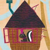 Androidアプリ「森のツリーハウス ライブ壁紙」のアイコン