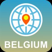 Androidアプリ「ベルギー 地図オフライン」のアイコン