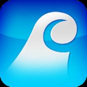 Androidアプリ「タイドグラフ(釣り、サーフィン、ダイビング、潮汐表、潮時表)」のアイコン