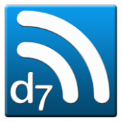 Androidアプリ「D7 Reader Pro (RSS | News)」のアイコン