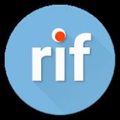 Androidアプリ「reddit is fun golden platinum (unofficial)」のアイコン
