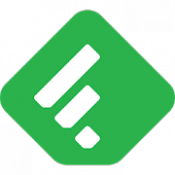 Androidアプリ「Feedly - Smarter News Reader」のアイコン