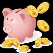 Androidアプリ「貯まる家計簿 無料版」のアイコン