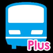 Androidアプリ「乗換案内Plus 定期代や青春18きっぷ検索 運行情報通知 乗車位置情報」のアイコン