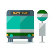 Androidアプリ「バスNAVITIME -時刻表・乗り換え・路線バス・高速バス・接近情報を簡単検索」のアイコン