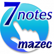 Androidアプリ「7notes with mazec (手書き日本語入力)」のアイコン