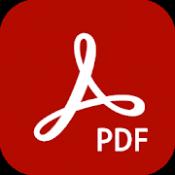 Androidアプリ「Adobe Acrobat Reader: PDF の閲覧・作成・編集」のアイコン