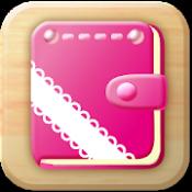 Androidアプリ「女性のリズム手帳」のアイコン