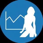 Androidアプリ「ダイエットカレンダー(体重管理)」のアイコン