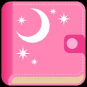 Androidアプリ「リズム手帳:生理管理アプリ/生理日予測アプリ。無料で排卵日予測・妊娠・ダイエットに便利!」のアイコン