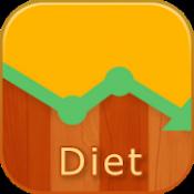 Androidアプリ「超簡単レコダイエット:体重管理・カロリー管理」のアイコン