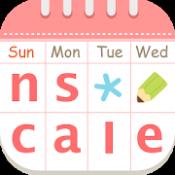Androidアプリ「ナスカレ≪看護師のシフト共有アプリ≫ナースのスケジュール手帳」のアイコン