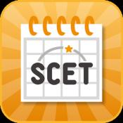 Androidアプリ「SCETカレンダー:シフトとプライベートをこれひとつで」のアイコン