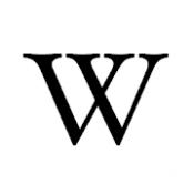 Androidアプリ「ウィキペディア」のアイコン