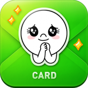 Androidアプリ「LINE Greeting Card」のアイコン