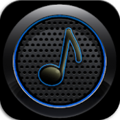 Androidアプリ「音楽プレーヤー : Rocket Player」のアイコン