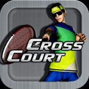 Androidアプリ「Cross Court Tennis」のアイコン
