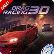 Androidアプリ「Drag Racing 3D」のアイコン