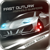 Androidアプリ「Fast Outlaw: Asphalt Surfers」のアイコン