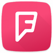 Androidアプリ「Foursquare」のアイコン