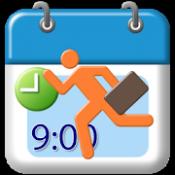 Androidアプリ「勤務ろぐ Free (勤怠,出退勤管理)」のアイコン
