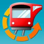 Androidアプリ「駅.Locky カウントダウン型時刻表アプリ」のアイコン
