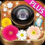 Androidアプリ「photodeco+ 大人カワイイ写真が楽しめるカメラアプリ」のアイコン