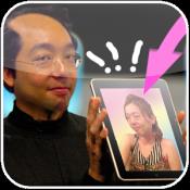 Androidアプリ「おもしろ画像合成 かんたんコラージュ  写真と私」のアイコン