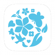 Androidアプリ「earth photo&diary」のアイコン