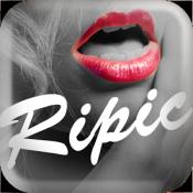 Androidアプリ「リピック-お洒落なフィルターカメラ加工アプリ!写メ画像を編集」のアイコン