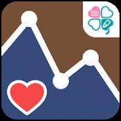 Androidアプリ「血圧ノート - 血圧変化をスマホで記録!グラフ化も簡単-」のアイコン