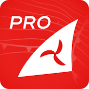 Androidアプリ「Windfinder Pro  - 天気&風の予報」のアイコン
