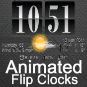 Androidアプリ「天気アニメーションデジタル時計」のアイコン