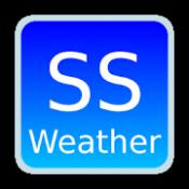 Androidアプリ「ss天気予報 new!」のアイコン