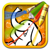Androidアプリ「Color & Draw for kids」のアイコン