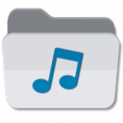 Androidアプリ「音楽フォルダプレーヤー フル・バージョン」のアイコン