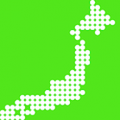 Androidアプリ「あそんでまなべる 日本地図パズル」のアイコン