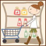 Androidアプリ「お買い物ノート Free」のアイコン