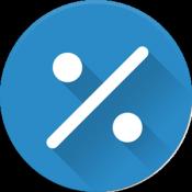 Androidアプリ「パーセント電卓」のアイコン