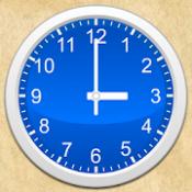 Androidアプリ「シンプルなアナログ時計ウィジェット無料」のアイコン