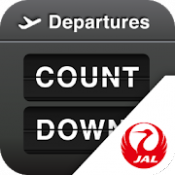Androidアプリ「JAL Countdown」のアイコン