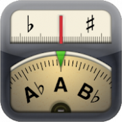 Androidアプリ「Cleartune - Chromatic Tuner」のアイコン