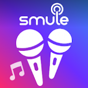 Androidアプリ「Smule - ナンバーワンの歌アプリ」のアイコン