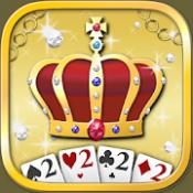 Androidアプリ「大富豪V - トランプゲーム無料(だいふごうV)」のアイコン