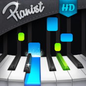 Androidアプリ「Pianist HD : Piano +」のアイコン