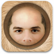 Androidアプリ「BaldBooth - The Bald Prank App」のアイコン
